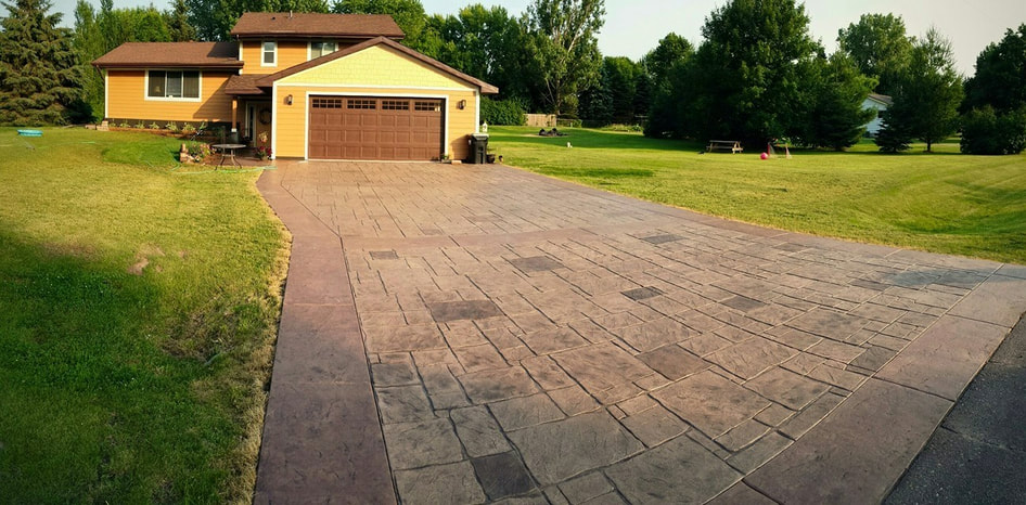 Stamped Concrete Patios, Concrete Driveways, Concrete Polishing
